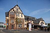 Bernkastel-Kues : Alter Bahnhof in Kues