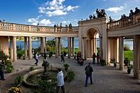 Castle garden Castle Schwerin - Schwerin, Mecklenburg-Vorpommern, Germany, 26/09/2009