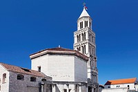 Cathedral of Saint Domnius and the Diocletian's mausoleum, Split, Dalmatia, Croatia
