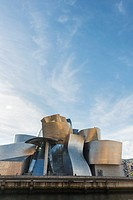 The Guggenheim Museum Bilbao is a museum of contemporary art designed by Canadian architect Frank O. Gehry. Bilbao, The Basque Country, Spain. Decembe...