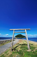 Torii Gate and Island