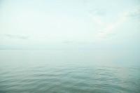 Quiet sea