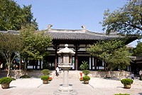 Jian Zhen memorial hall, Daming temple, Yangzhou, Jiangsu Province, China