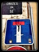 street art in Alfama, Portugal