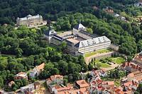 Ccastle Friedenstein in Gotha in Thuringia. www.stiftungfriedenstein.de. - Gotha, Thüringen, Germany, 23/06/2013