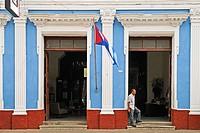 Street scene.Cienfuegos.Cuba.