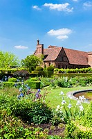 garden of Hatfield House, Hertfordshire, England.