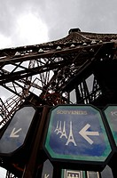 Paris, Eiffel Tower, Tour Eiffel, France, Paris