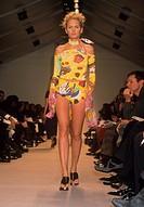 enrico coveri fashion show, spring summer collection 1999