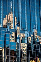 PPG Place office Tower Reflections.