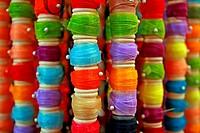Reels of textile fibers