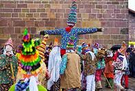 Carnival in Lantz, Navarre, Spain.