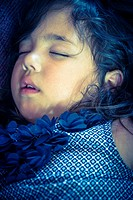 Little girl sleeping.