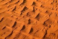 Sand ripples, texture on a sand dune, Tassili n'Ajjer, Sahara desert, Algeria