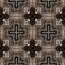 art vintage geometric ornamental pattern