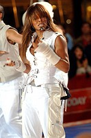 Janet Jackson on stage for Janet Jackson In Concert on the NBC Today Show, Rockefeller Center, New York, NY, September 29, 2006. Photo by: George Tayl...
