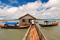 Hut in the Ream National Park. Ream National Park is a pristine maritime park just outside Sihanoukville. Notable for its mangrove forests, wildlife a...