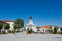 Poland, Wadowice, The 18th century Lesser Basilica is where Pope John Paul II was baptised.