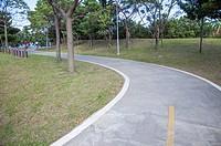 Danshui, Taipei, Taiwan, Asia, Jhuwei, Bicycle Lane,