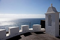 Festung Castillo de La Virgen in Santa Cruz de La Palma, Hauptstadt der Insel La Palma, Kanarische Inseln, Spanien, Europa | Fortress Castillo de La V...