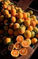 Fresh Oranges at Ayios Nikolaos' Wednesday Market