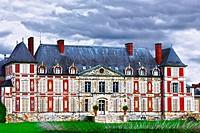 france, essonne : courson castle.