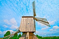 france, loire castles : talcy mill.
