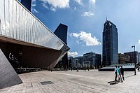 For a long time the headquarters of insurance company Nationale Nederlanden was, with a height of 150 meters, the highest office in the Netherlands. T...