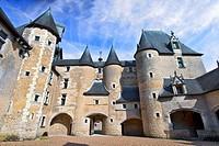 france, 41, loire castles : fougères-sur-bièvres castle