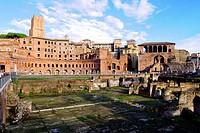 Trajan´s Market ruins - Rome, Italy.