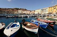 Europe, Italy, Tuscany, Island Elba, Portoferraio, Harbour