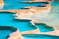 magical travertine ponds