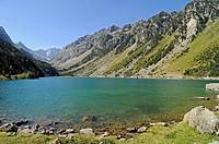 lake Lac de Gaube, Cauterets, Midi-Pyrenees, Pyrenees, France, Europe, Lac de Gaube, See, Cauterets, Midi Pyrenees, Pyrenaeen, Frankreich, Europa