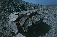 Italy - Sicily Region - Messina Province - Aeolian Islands - Vulcano Island. Bread-crust lava bomb