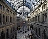 Galleria Umberto I, 1887-1890, Naples, Campania, Italy.