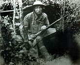 WWI, Solitary Soldier