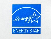 Energy star logo. This logo represents energy efficient products and practices. A product must meet certain energy efficiency requirements set forth b...