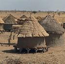 Granary in a village, near Nioro du Sahel, Mali.