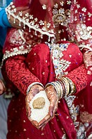 Hindu wedding function Kanyadaan Uttar Pradesh India Asia