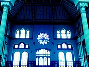 Interior of Sirkeci Train Station, Istanbul, Turkey.