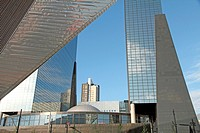 ROTTERDAM, NETHERLANDS - JUNE 8: This city is the architectural capital of the Netherlands on June 8, 2014 in Rotterdam. Very spectacular new building...