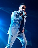 The Backstreet Boys perform at The O2 supported by All Saints... Featuring: Backstreet Boys - AJ McLean Where: Dublin, Ireland When: 02 Apr 2014 Credi...