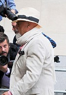 Gary Glitter (real name Paul Gadd) seen arriving at Westminster Magistrates' Court in London Featuring: Gary Glitter Where: London, United Kingdom Whe...