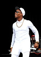 Wireless Festival 2014 - Day 2 - Performances - B.o.B. opens the main stage at Finsbury Park in London Featuring: B.o.B.,BoB,Bobby Ray,Bobby Ray Simmo...