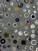 A collection of vintage buttons from John Taylor's workshop in Birmingham. Circa 17th and 18th century.