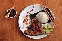 Vietnamese fish hotpot,.
