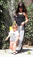 Selma Blair and her son Arthur enjoy the outdoors in Studio City Featuring: Selma Blair,Arthur Bleick Where: Los Angeles, California , United States W...