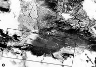 Cuban Missile Crisis, aerial photograph of Sagua La Grange before recognizable Soviet military activity, Cuba, September 5, 1962. Courtesy: CSU Archiv...