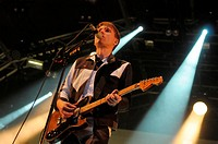Franz Ferdinand performs at The Summer series at Somerset House.London.England.16.07.2014 Featuring: Alex Kapranos Where: London, United Kingdom When:...