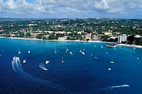 Barbados, aerial view of the Gran Barbados Hotel